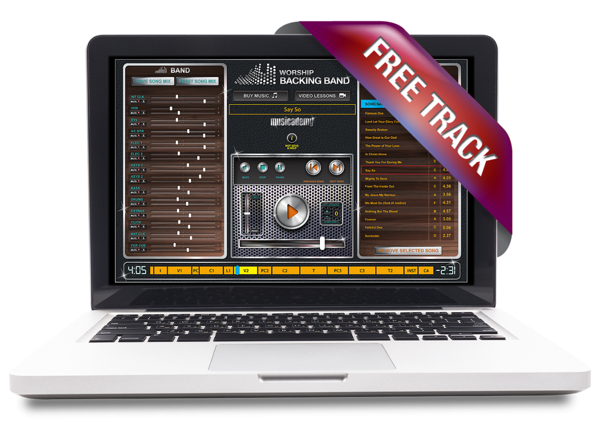 Free MultiTrack from Worship Backing Band: Impossible