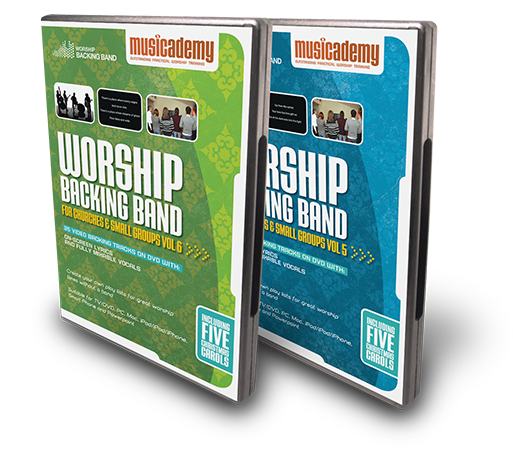 Two new Worship Backing Band DVDs released. The cheapest way to buy Split Tracks.