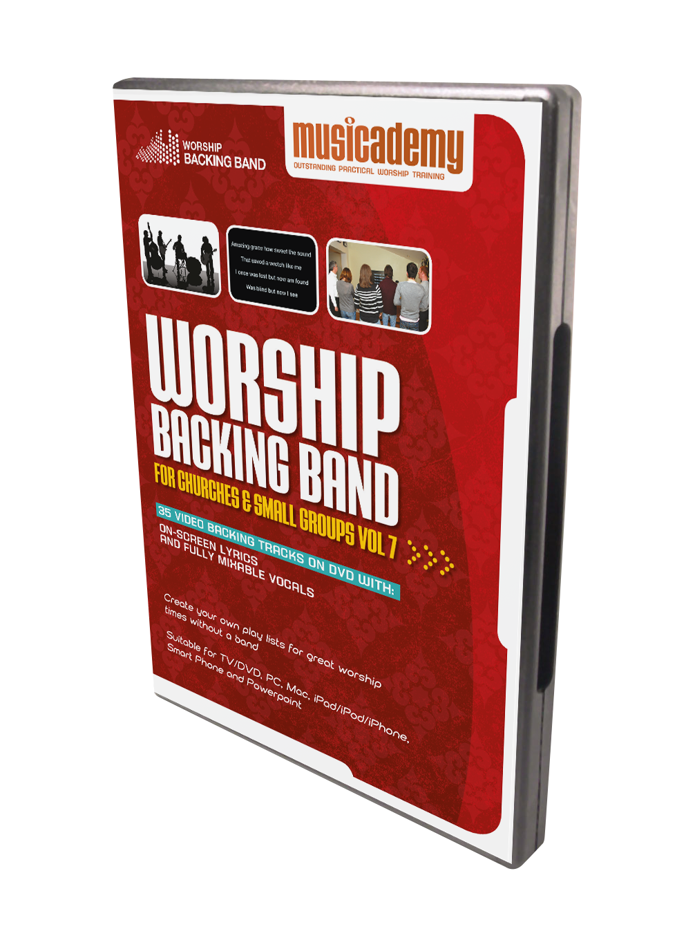 Worship Backing Band DVD Volume 7 available now