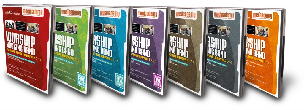 Backing track DVDs for churches