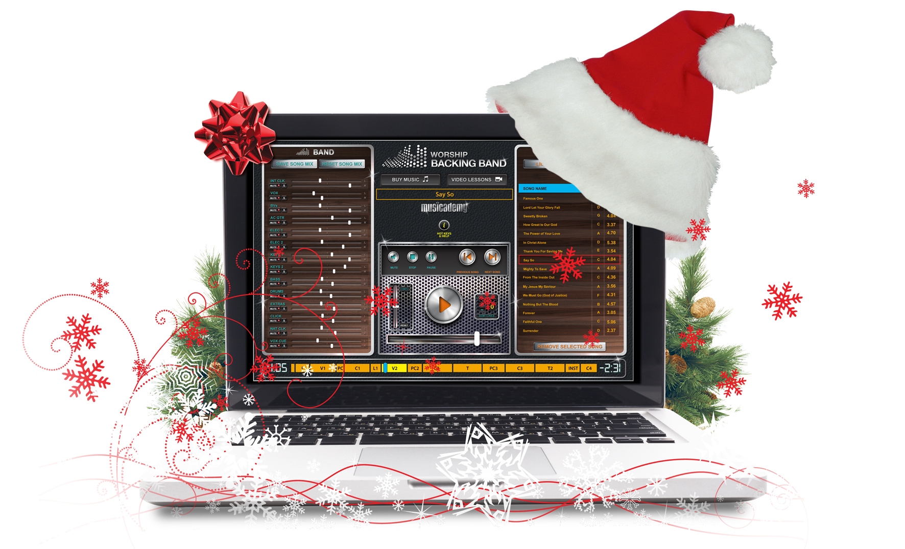 Free Christmas MultiTrack
