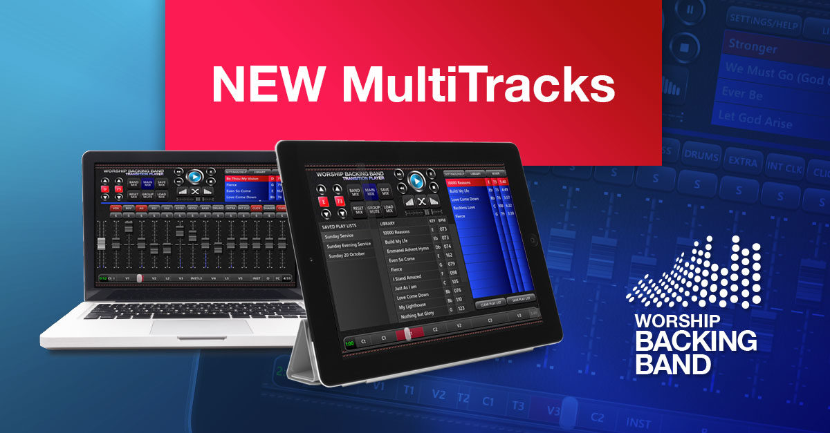 10 huge new MultiTracks and Split Tracks