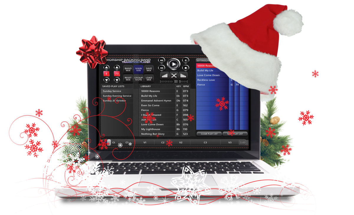 Christmas songs and carols in MultiTrack and Split Track format