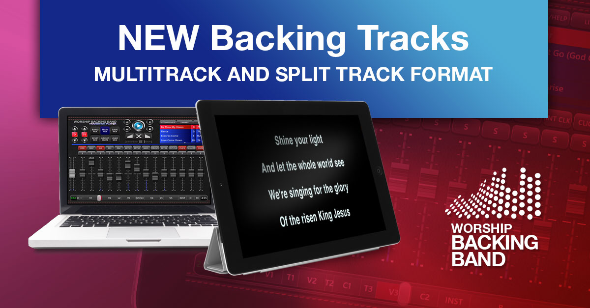 Five new backing tracks