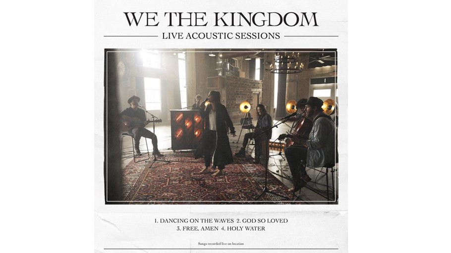 New backing track: God So Loved (We The Kingdom)
