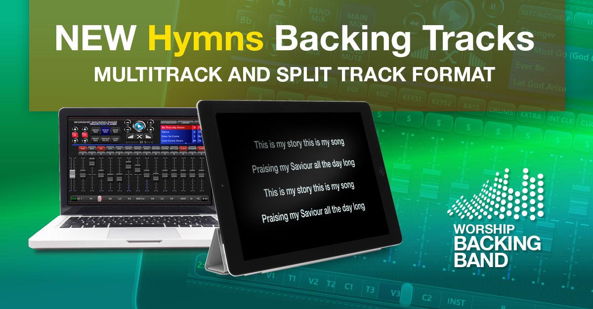 Hymns MultiTrack and Split Track backing tracks