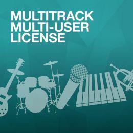 Multi-User License for MultiTracks (one PER track)