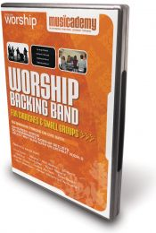 Worship Backing Band DVD for Churches and Small Groups - Volume 1